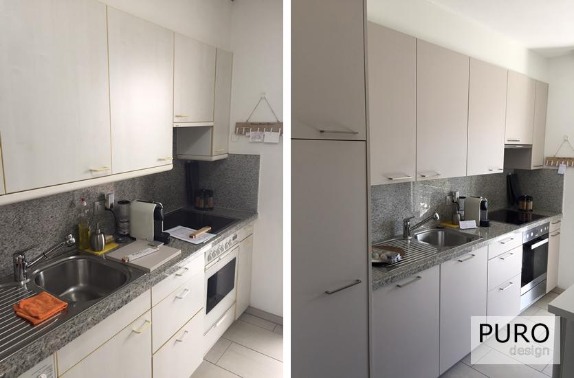 cucine realizzate (prima e dopo) →